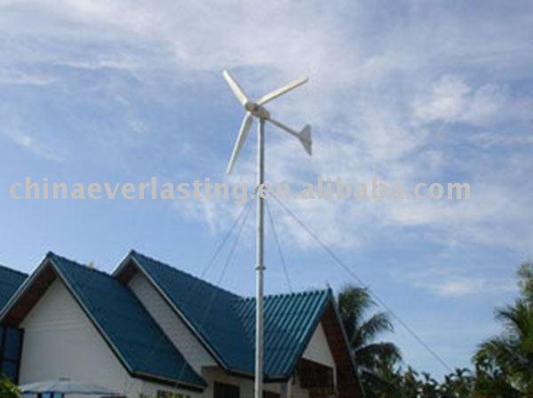 casa generador de viento