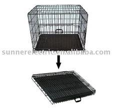 Folding Metal Mesh Dog Cage (Model: SRPC-003)