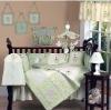 Cotton 4-piece Crib Bedding Set-cs21