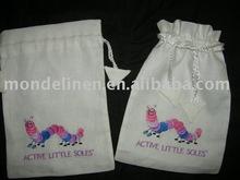 laundry drawstring bag children shoes bag