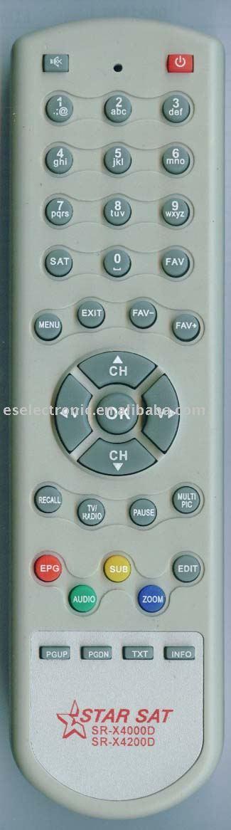 لاتحتار بعد الان مع ريموت ستار سات 2000 هايبر Hd الغير متوفر فى الاسواق DVB_S_Remote_Control_for_STAR_SAT