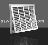 Return air filter grille