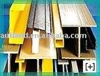 Composite fiberglass profiles,GRP,FRP pultruded profiles