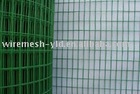 Light Green PVC Coated Welded Wire Mesh Roll
