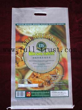Plastic woven bag