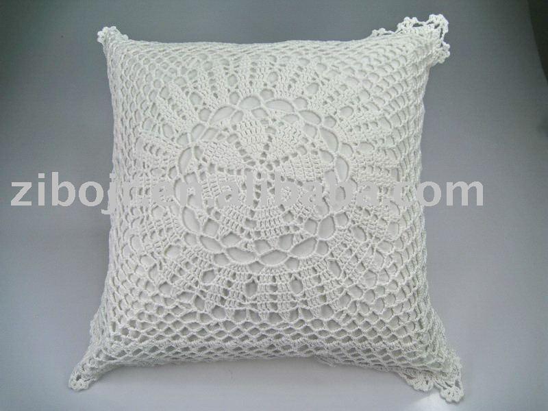 crochet housse de coussin mat id du produit 225129307. Black Bedroom Furniture Sets. Home Design Ideas