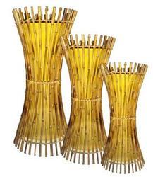 Lampu Hias Bambu