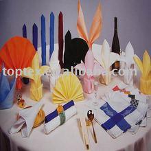 100% spun polyester Napkin/table napkin for restaurant and hotel