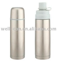stainless steel two way thermos bottle
