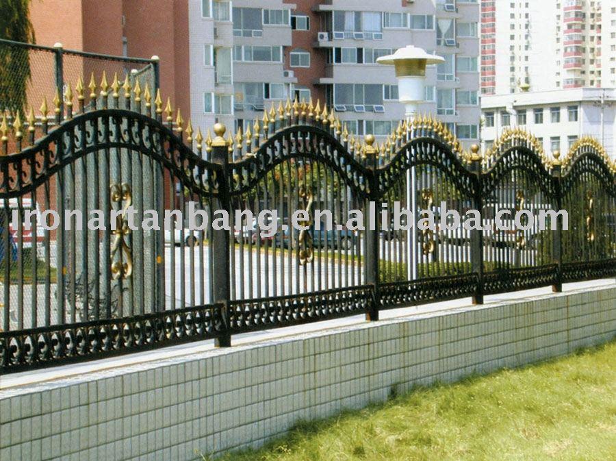 cerca de jardim ferro:Iron Craft Fence Panels