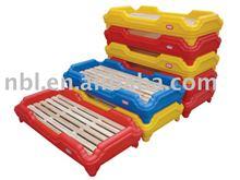 Children Plastic Bed(Children's Beds,Bedroom Furniture)