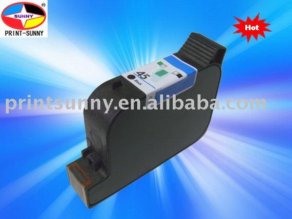 Jato de tinta do cartucho de tinta para impressora hp 51645/45, uso em dj 710c/ 720c/ 820 cxi etc.