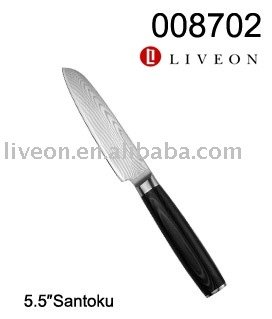 Classic Delicate Damascus Kitchen Knife