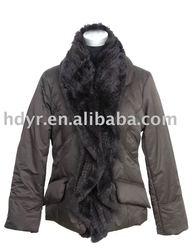 KRIZIA Brand Lady's Winter Jacket With Fur