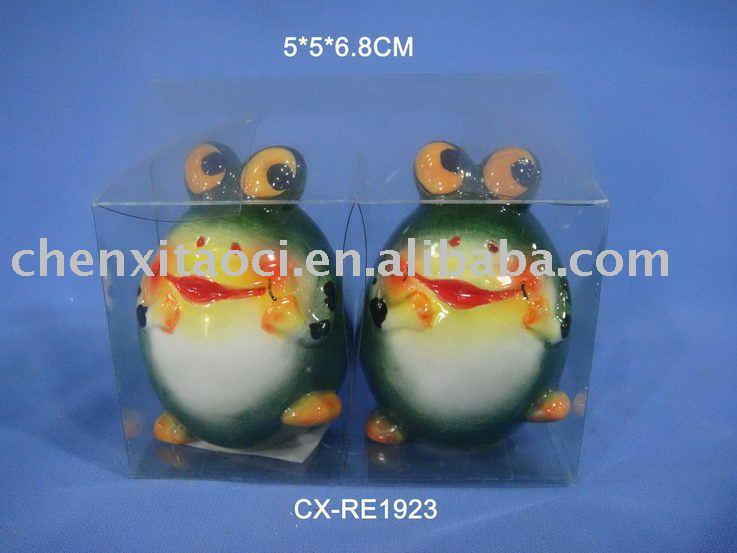 ceramic S&P shaker -dolomite salt shaker-porcelain cruet
