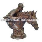 Cast Iron Statue, Knight Sculpture