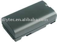Hot sale color black 7.2 V total station battery