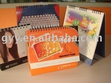 2012 the fashional paper table calendar