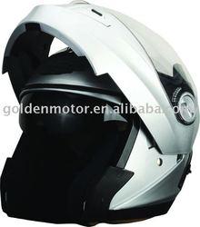 HDH999E ece helmet with sun visor/glasses,flip up,blue tooth is optional