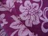 embossed micro velboa fabric for blanket/mattress/quilt/sheet