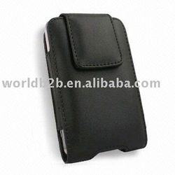 Leather case for Blackberry 8900/9500/9000/8300 with clip (new)