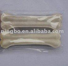 "6.5"" Bleached Presseded Bone / Dog chew"