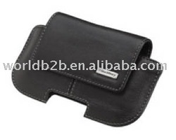 Leather case for Blackberry 9500/8900 with Clip