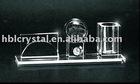 crystal decoration , crystal card holder , crystal pen holder