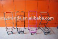 Basket Trolley, Basket Shopping Cart, Double Basket Trolley, Supermarket Basket Cart