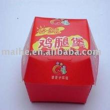 hamburger box,fast food packaging,hot dog box,