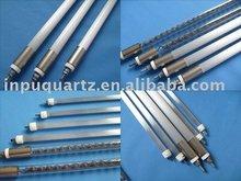 Infared quartz heater elements with milky quartz clear tube (CE certification)