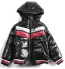 made of 100%cotton Children's Pu Jackets