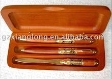 Wooden ball pen,pen box