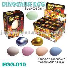 Vendez les jouets en expansion d'oeufs de dinosaur, jouets d'oeufs de dinosaur, cadeaux de promotion