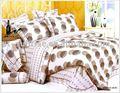 100% algodão impressão tampa de cama