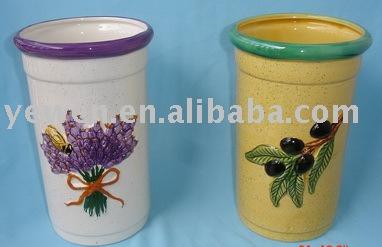 ceramic beer cooler pot, beer cooler holder