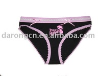 girl's panty (ladies' underwear,girl's pants, women's undergarment)