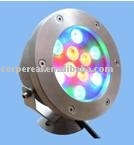10w LED underwater outdoor housing fountain pool light lamp lights