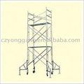 Fabricante de andamios/galvanizado andamios/andamios móviles/andamios de construcción