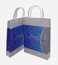 White kraft paper handbag A006
