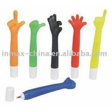 finger shape ball pen