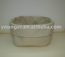 solid color bread basket