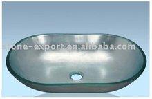 Artistic Glass Basins,glass sinks,topmount glass basins