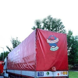 Truck cover, PVC coated tarpaulin