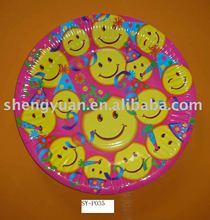 PE coated paper plate