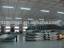 aluminium floor inflatable boat 0.9T