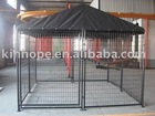 dog kennel with UV proof top cover