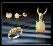 White Opal Jewellery