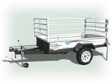 Challenger Flat Deck Mini Trailer