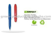 Biodegradable corn pen,corn pen,biodegradable pen(Item No: TPP007)